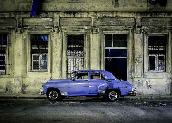 Cuba blue and yellow