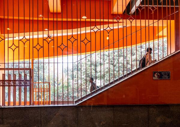 Delhi - Metro station