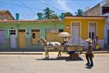 Transport in Trinidad Cuba