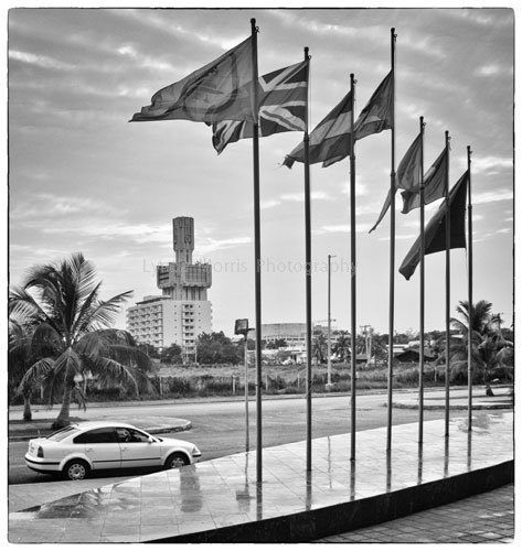 Havana, Russian Embassy from Hotel Panorama