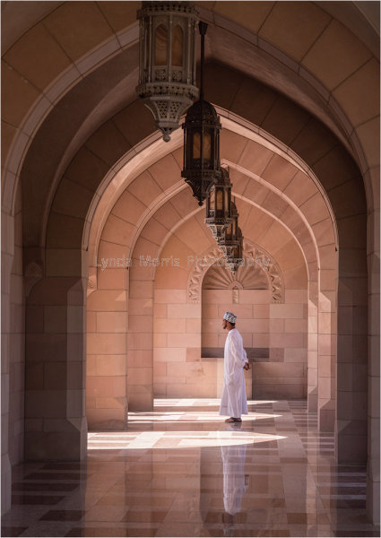 Light and Shades at the Mosque