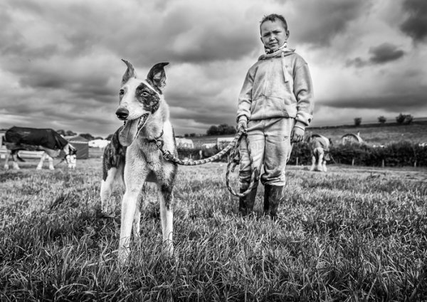 Appleby - Boy and his dog