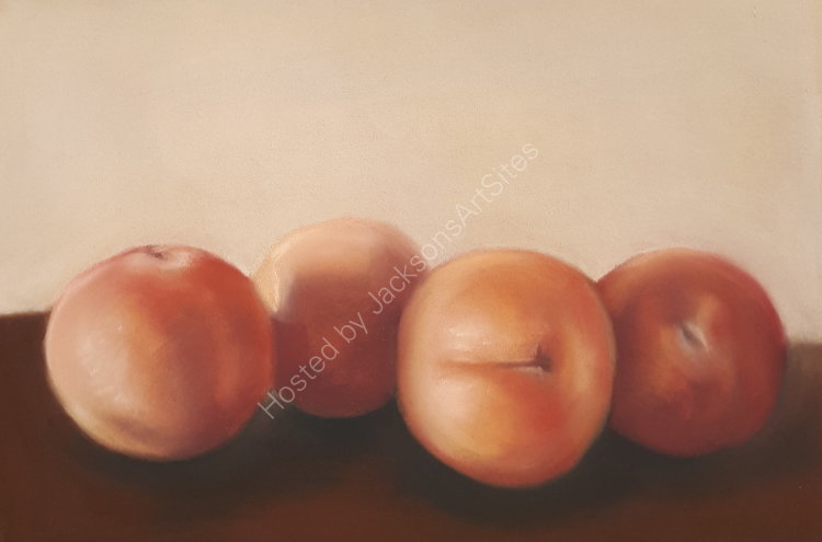 Apricots 9 x 7 in (unframed) £60