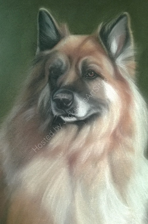 German Shepherd 10 x 8 in