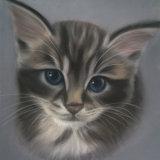 """Kitten 9"""" x 7"""" Pastel"""