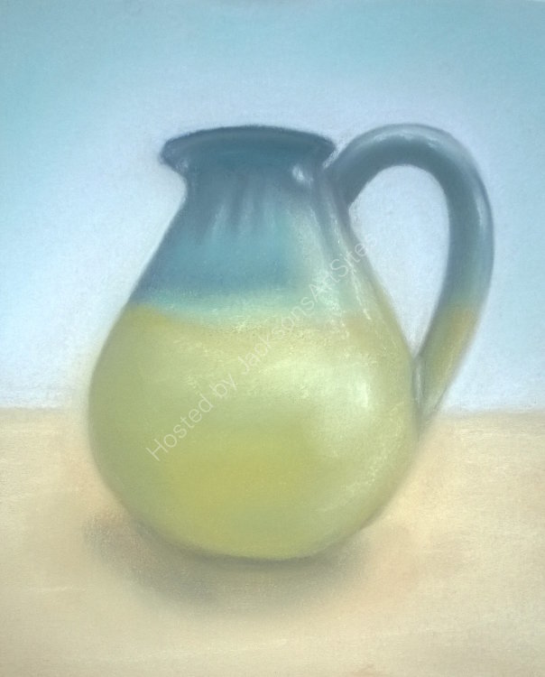 Blue and Green Jug 8 x 6 in ( in a 10 x 12 in mount) £50
