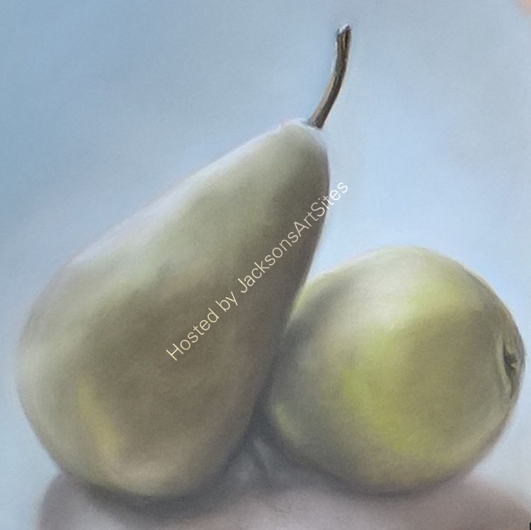 Green Pears 8 x 8 in (in 12 x 12 in mount) £60