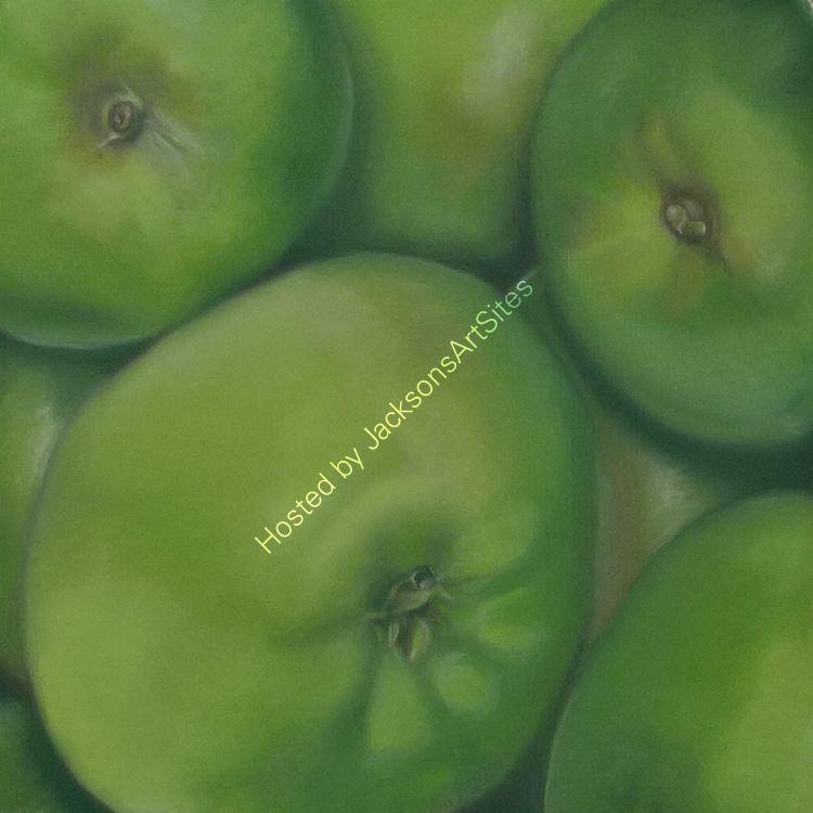 Green Apples 10 x 10 in (unframed) £70