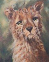 """Murphy (Oil on Canvas, size 20"""" x 16"""" unframed)"""