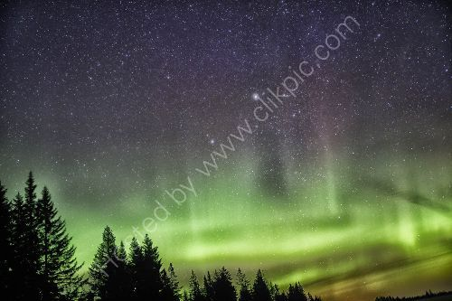 Aurora Borealis from Lake Clark National Park