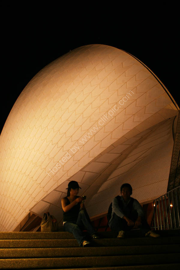 The most famous icon in Sydney - The Opera House.