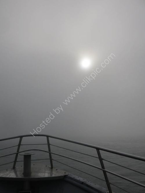 Pea soup fogs are not uncommon - Homer to Seldovia