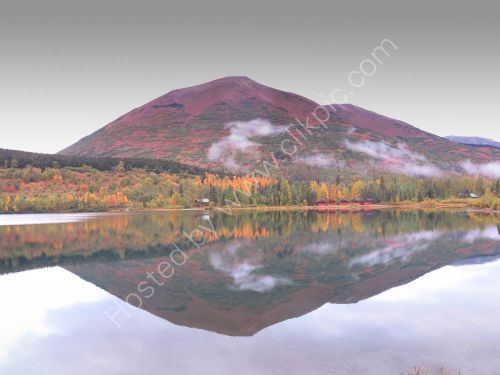 reflections at Moose Pass Alaska