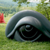 Eye sculpture at Storm King New York
