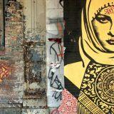 Street art in  East Village, Manhattan