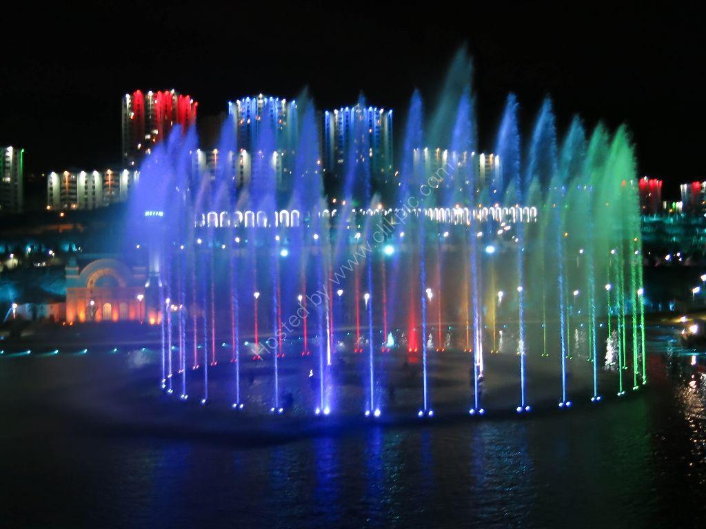 Stunning Fountains in Ankara