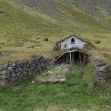 old Icelandic Turf House
