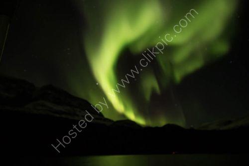 Aurora Borealis from the ship Ocean Nova in Scoresby Sound