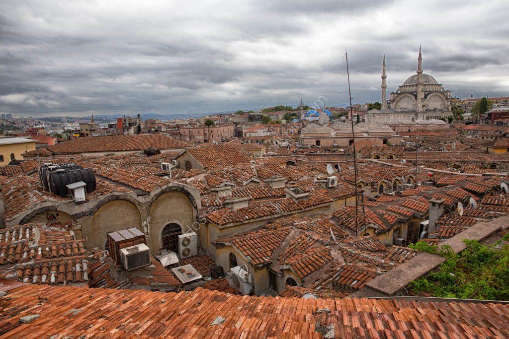 Grand Bazaar roof tops Istanbul