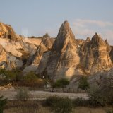Goreme famous for these Fairy Chimney rock formations