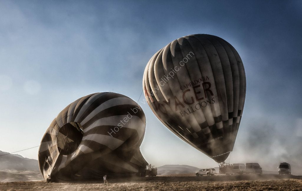 Hot Air Ballooning, Cappadoccia