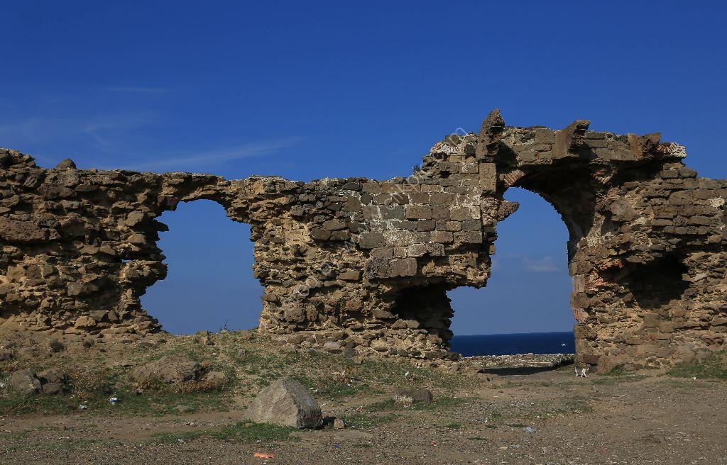 Old Fort on Black Sea and Bosphorus.