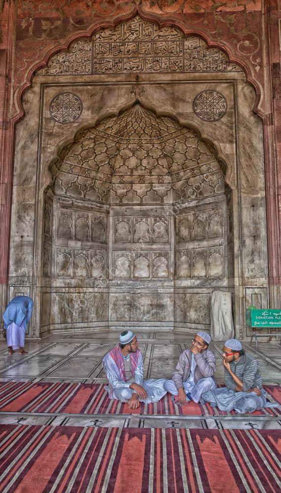Jama Masjid Mosque in New Delhi