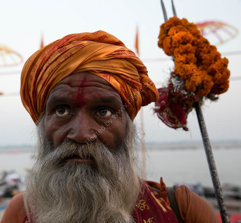 Holy Man of Varanasi