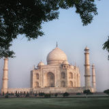 Taj Mahal -side view