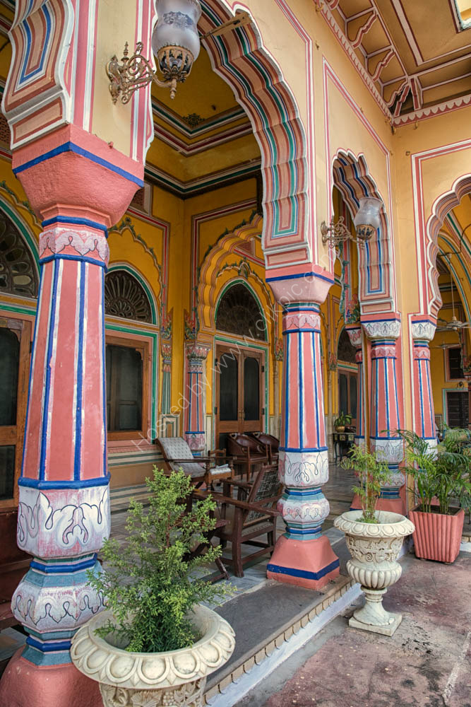 Hotel Narain Niwas Palace in Jaipur