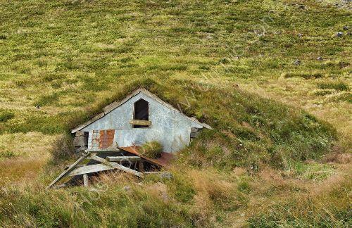 "old ""Turf"" house- Iceland"