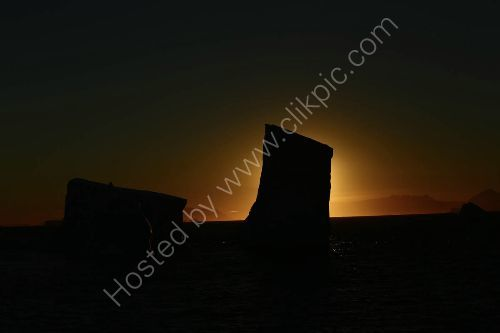 Greenland sunset -Scoresby Sound