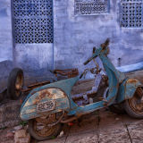 Old bike in Jodphur