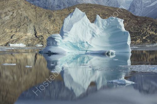 an impressive Iceberg Greenland  -