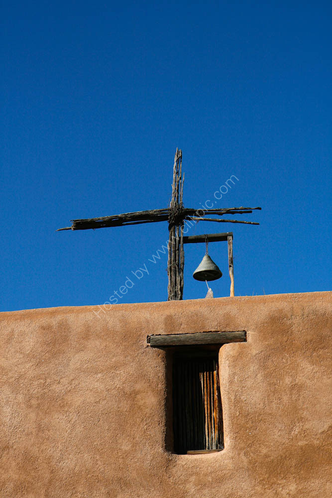 Adobe Church detail - Arizona