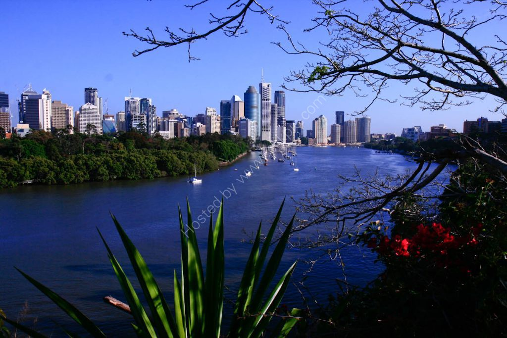 Brisbane River & Skyline