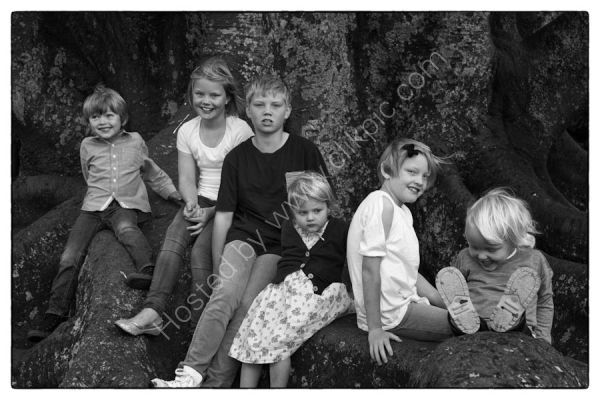 Family Phot shoot - The Domain Auckland