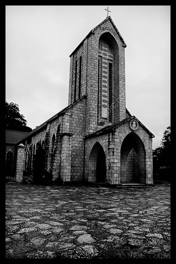 French Catholic Church - Sapa built 1930