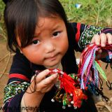 Hmong Tribe Child -Sapa