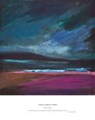 vivid blue of a night wave, Gairloch