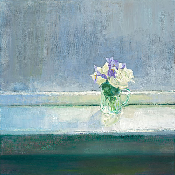 Window Sill Posy PRINT 27x27cms