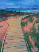 a damp walk to the waves, Mellon Udrigle