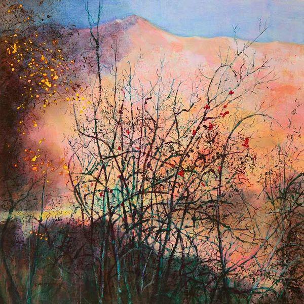by Loch Maree PRINT 27x27cms