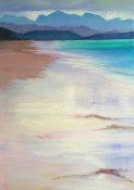 glassy wave wash, Big Sand