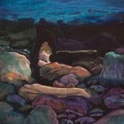 light played on dark rocks, Mellon Charles
