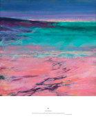 night closed in on the pink horizon, Ardnamurchan
