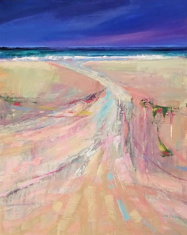 pastel runnel PRINT 34x27