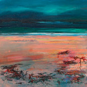 reborn, wet sand and weed, Wester Ross