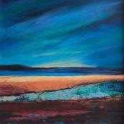sand strip revisited, Outer Hebrides