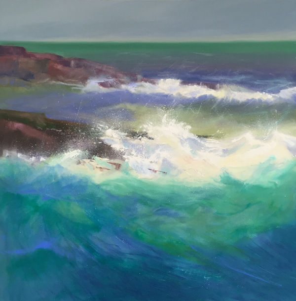 sea beaten rock, Wester Ross PRINT 27x27